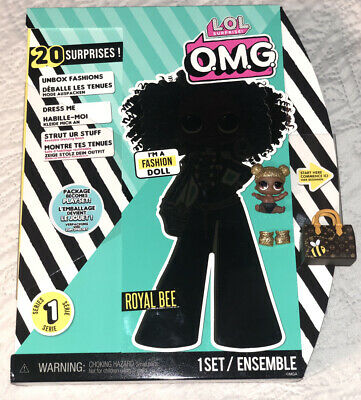LOL Surprise OMG doll ROYAL BEE Series 1 Brand New. And Used  Lil BEE Lot