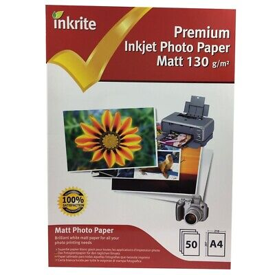 Inkrite PhotoPlus Professional Paper Photo Gloss 130gsm A4 (50 sheets)