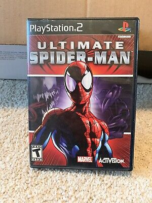 Ultimate Spider-Man (Sony PlayStation 2, Ps2 2005) COMPLETE Cib TESTED