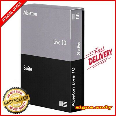 Ableton Live Suite 10 🔥 Lifetime Activation ✅ Windows ✅ Fast Delivery 🔥