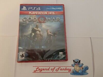 God of War - ps4 Sony PlayStation 4 * New Sealed Game * Fast Free Shipping