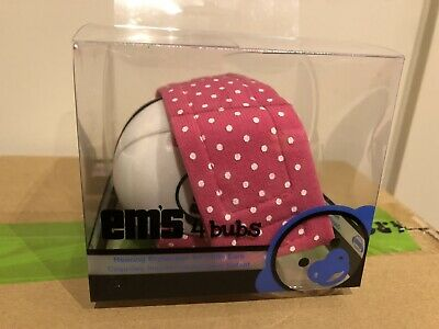EM's For Bubs Baby Ear Muffs Pink Brand New Never Used