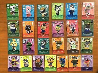 Animal Crossing Amiibo Series 2 Cards - MINT NEVER SCANNED