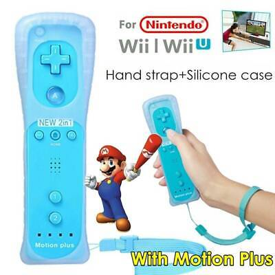 Built-in Motion Plus Inside Remote Controller For Nintendo Wii / Wii U Wiimote