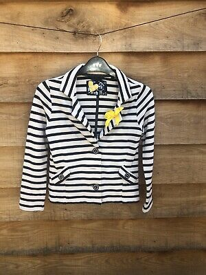 Gorgeous Next Girls Summer Nautical Jacket Age 9 Great Condition