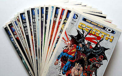Earth 2 #0, 1-13 + Annual Full Run (2012 DC) New 52