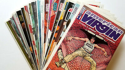 American Virgin #1-23 Full Set (2006 DC/Vertigo)