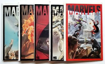 Marvels #0, 1-4 Full Set (1994)