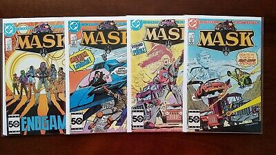 MASK #1-4 Full Set (1985 DC) 1st Series