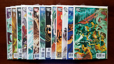 Justice #1-12 + Variant #1 Full Set (2005 DC)