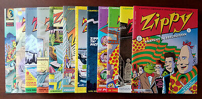 Zippy Quarterly #1, 2, 3, 4, 5, 6, 7, 8, 9, 10, 11, 12 (1993 Fantagraphics)