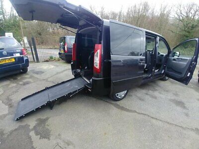 2012 Wheelchair Access Peugeot Expert 2.0 Hdi WAV or Mobility Scooter Transport