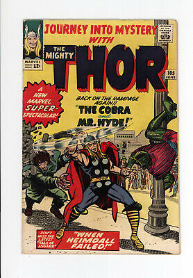 JOURNEY INTO MYSTERY #105 - AVENGERS! - JACK KIRBY Cover & ART - THOR 1964