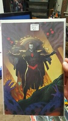 Powers Of X #5 Vf Rb Silvia 1:100 Virgin Incentive Variant Marvel Comics 2019