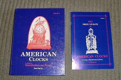American Clocks Volume 1 By Tran Duy Ly  w/1993 Price up date Hardcover