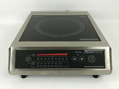 """Tarrison (CT-18F) - Professional 13"""" Countertop Induction Range Cooking System"""