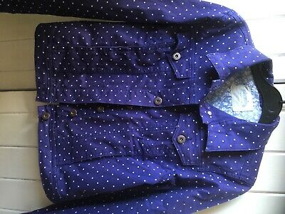 Girls johnnie B Spotty Jacket Age 13-14 Great condition