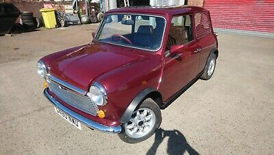 1989 Classic Mini Thirty Very Nice Little Thing In Cherry Red No Rot