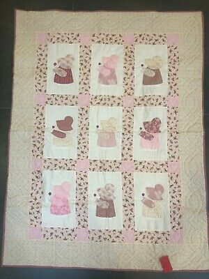 NEW Girl's cot bed patchwork quilt