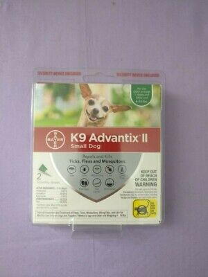 K9 Advantix II Flea & Tick Treatment for Small Dogs 4-10 lbs 2 Doses