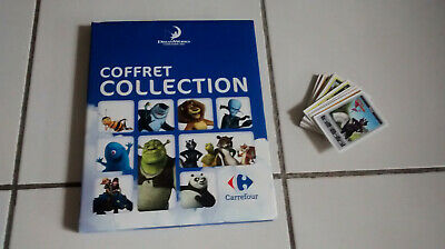 RARE Album Dreamworks Carrefour Complet 216 images (inclus 5 cartes magiques SP)