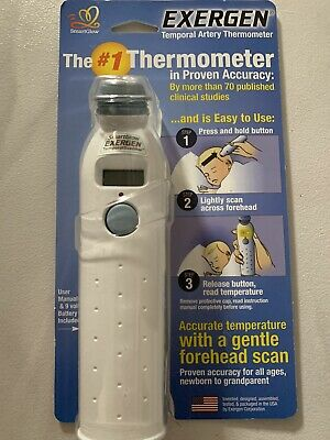 Exergen Temporal Artery Thermometer TAT-2000C  Brand  New. Made in U.S.A