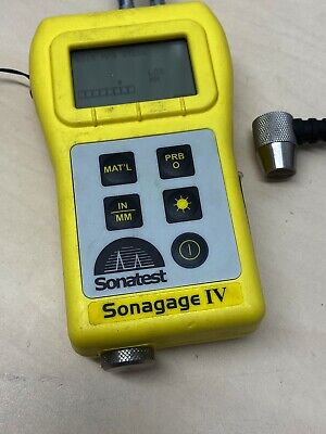 Sonagage IV Ultrasonic Thickness Meter with Transducer