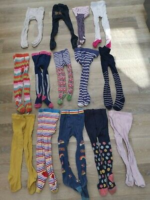 Girl Tights bundle x14 pairs - size 2-3 years (Gap, Mini Boden, Next etc...)