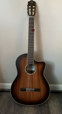 Cordoba C4-CE Nylon String Classical Cutaway Acoustic-Electric Guitar + Pickup