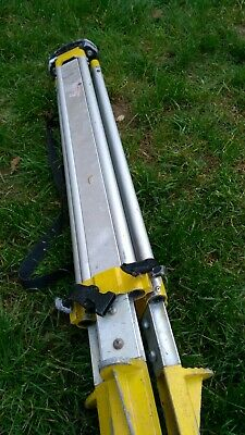 Leica GST103 Aluminium Tripod For Surveyors - Used Condition