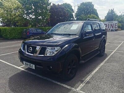 2007 Nissan Pathfinder Adventura 4x4 2.5dci Auto FULL MOT great for camping!