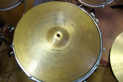 "Paiste 2002 Black Label 14"" Hi Hats !"