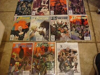 LOT X-FACTOR MINT IN THE SLEEVES Comics Books