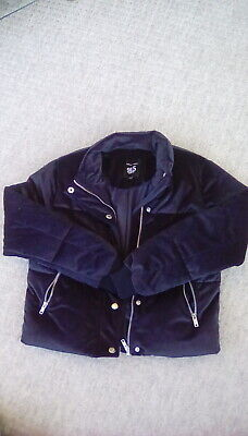 Girls New Look jacket size 9 yrs padded puffs never worn