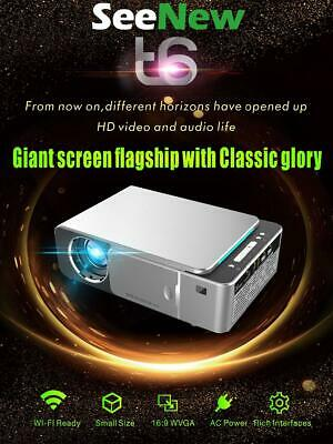 Smart Projector 3500 Lumens T6 WIFI HD Video Portable Home Theater Projecteur