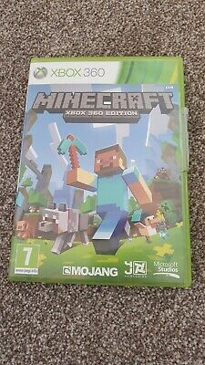 Minecraft game for Xbox 360 boxed