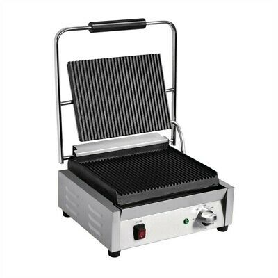 Buffalo Bistro Griddle Single Large Grooved/Grooved
