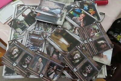 The Walking DeadTopps Trading Cards from 2017!! VGC!!