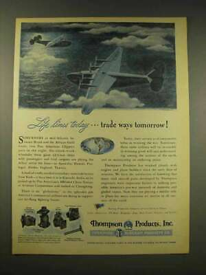 1944 Thompson Aircraft Products Ad - Life Lines Today