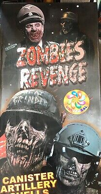 The Original - Zombies Revenge Firework Labels X24