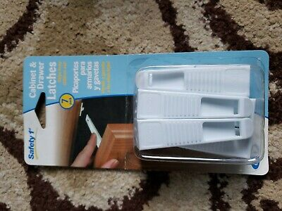 Safety 1st Cabinet & Drawer Latches 7 pack NIB NIP