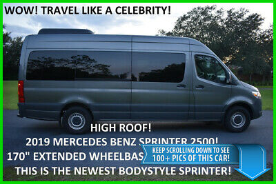 "2019 Mercedes-Benz Sprinter 170 HI ROOF PASSENGER - BEST DEAL ON EBAY high 170"" wheelbase limousine limo escalade esv cadillac party bus maybach s600"