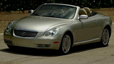 2002 Lexus SC LEATHER 2002 LEXUS SC 430 LUXURY CONVERTIBLE TWO FLORIDA OWNERS WELL SERVICED MUST SEE
