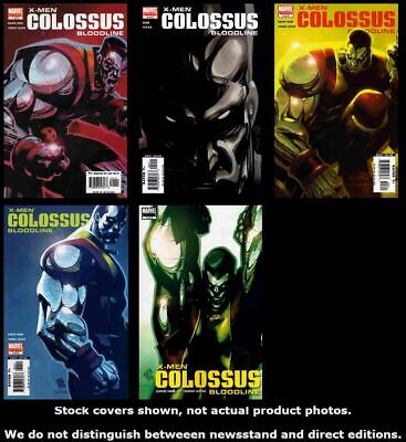 X-Men: Colossus: Bloodline 1 2 3 4 5 Marvel 2005 Complete Set Run Lot 1-5 VF/NM