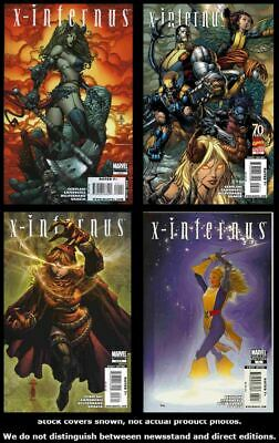 X-Infernus 1 2 3 4/A Marvel 2009 Complete Set Run Lot 1-4/A VF/NM