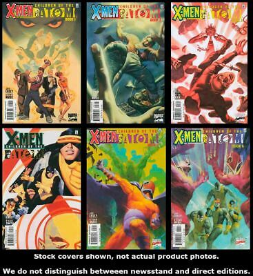 X-Men: Children of the Atom 1 2 3 4 5 6 Complete Set Run Lot 1-6 VF/NM