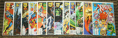 DC Marvel Amalgam SET of 24 Books - ALL Mash Up Issues - All 1sts - 1995 & 1996