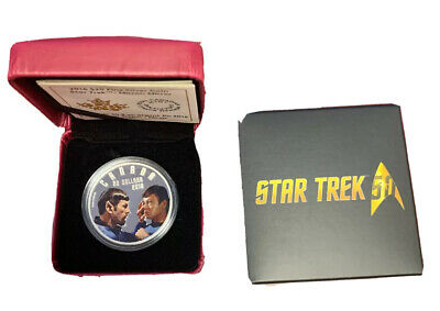 2016 $20.00 Fine Silver Coin Star Trek Mirror Mirror Royal Canadian Mint Canada