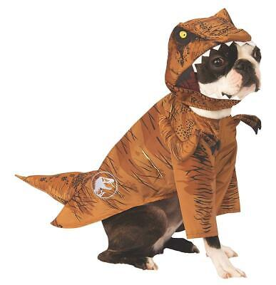 Jurassic World Caduto Kingdom T.Rex Animale Domestico Costume - Grande