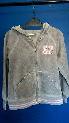 Girls Age 5 , Grey hoodie ( Next )